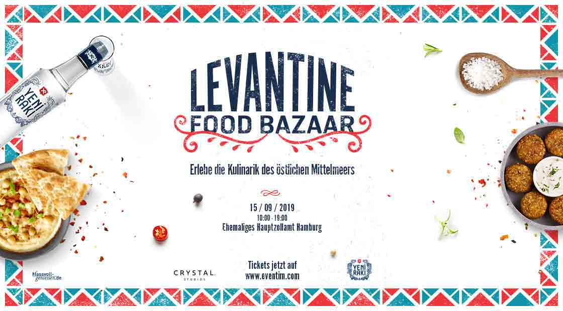 Levantine Food Bazaar by Yeni Rakı